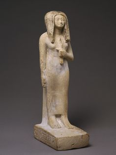 New Kingdom - Statuette of Taweret, New Kingdom, early Dynasty 18, ca. 1550–1458 BC    http://www.metmuseum.org/toah/works-of-art/26.7.1404