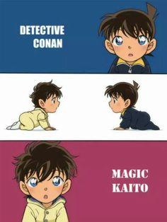 Detective Conan and Magic Kaito 1412