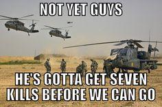 call of duty logic.