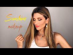 Sunshine Makeup | Roula Stamatopoulou - YouTube Make Up, Youtube, Drop Earrings, Jewelry, Products, Fashion, Moda, Jewlery, Jewerly