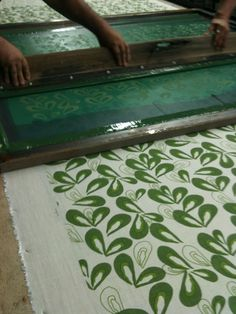screen printing fabric