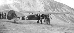 L'aereo che trasporto' Mussolini