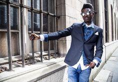 win a year of free denim at WE FASHION - giveaway by jon the gold menswear blogger antwerp - wearing we fashion blue ridge  denim look with black blazer fall winter 2015 -