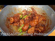 """PALAGITIK"" Lutong Probinsya | Buhay Probinsya @IMPOY'S JOURNEY - YouTube Halo Halo, Batangas, Pinoy Food, Filipino Recipes, Chicken Recipes, Meat, Journey, Youtube, The Journey"