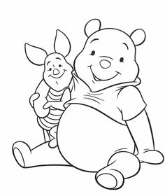 Winnie the Pooh Coloring Pages We hope you enjoy our collection of Winnie the Pooh coloring pictures and coloring sheets! Cute Coloring Pages, Disney Coloring Pages, Coloring Pages To Print, Adult Coloring Pages, Coloring Pages For Kids, Coloring Sheets, Coloring Books, Disney Drawings, Cartoon Drawings