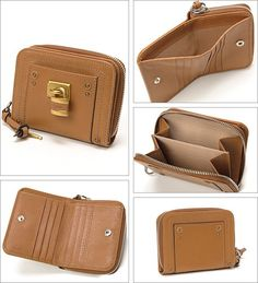 信頼できるクロエ【Chloe】パディントン つ折り財布 レディース 南京錠 タン激安セール中。機能的なラウンドファスナー式のお二つ折り財布は超人気。