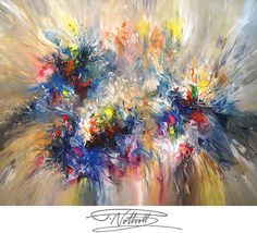 Very Large Abstract Painting Original XL by abstractpaintingshop, $890.00