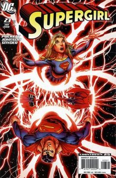 supergirl #23 Adam Kubert Variant cover __IV__