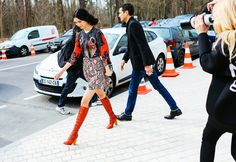 BOOTS!} Street Style: Paris Fashion Week Fall 2015, Part 2 – Vogue