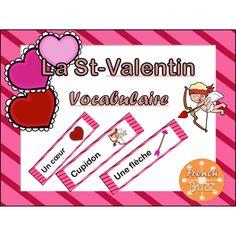 GRATUIT! La St-Valentin - vocabulaire