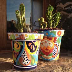Feel the Mexican sunshine... rancholascascadas.com Mexican Art, Planter Pots, Sunshine, Feelings, Ranch, Waterfalls, Sunlight