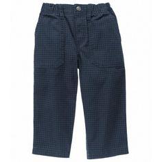 Pantalon Gymboree Houndstooth azul oscuro