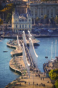 Barcelona, the harbour