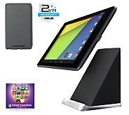 """Google Nexus 7"""" 32GB Tablet with Apps, Acc,  &2-Year Warranty Deal"""