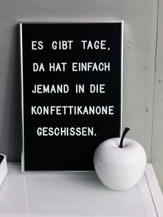 Letter board with a funny saying - There are days when Buchstabentafel mit lustigem Spruch – Es gibt Tage, da hat einfach jemand in die… Letter board with a funny saying – There are days when someone just shit in the confetti cannon … - Funny Quotes About Life, Quotes About Moving On, Life Quotes, Quotes Quotes, Short Quotes, Family Quotes, Positive Quotes, Motivational Quotes, Inspirational Quotes