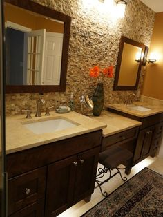 Bathroom Makeup Vanity Design, Pictures, Remodel, Decor and Ideas - page 23