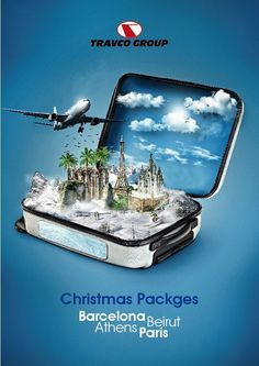 Travco - christmas packges on behance creative advertising, advertising design, advertising poster, advertising Creative Poster Design, Ads Creative, Creative Posters, Creative Advertising, Advertising Poster, Graphic Design Posters, Advertising Design, Graphic Design Inspiration, Advertising Campaign
