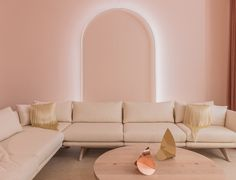 A Touch of Surrealism in a Sea of Pink, at The Future Perfect's New Secret Space