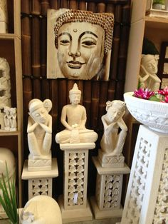 Balinese Limestone Garden Statues www.balimystique.com.au