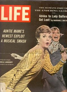Vintage 1966, Angela Lansbury in Mame on Broadway, NYC#Repin By:Pinterest++ for iPad#