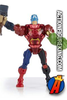 The Mighty Composite Avenger courtesy of Marvel Super Hero Mashers by Hasbro. #avengers #actionfigures #marvelsuperheromashers
