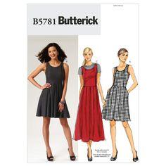 Misses'/Misses' Petite Dress-E5 (4-16-18-20-22) Pattern, , hi-res