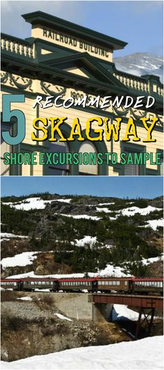 Skagway Shore Excursions Offer a Treat for Cruise Ship Passengers Traveling along the Alaskan Coast