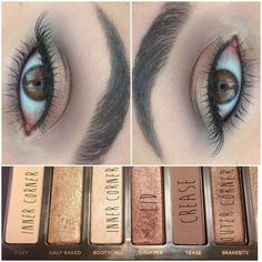 eye look using Urban Decay's Naked 2 palette:) by tiff.e.richards