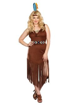 a plus size deluxe womens indian costume is just what you need to revive your halloween spirit it comes in sizes 1x 7x and is 2899 from wwwha