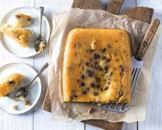 Gâteau de semoule au caramel | Recette Cake Factory Cake Factory, Caramel, Mashed Potatoes, Ethnic Recipes, Food, Raisin, Kitchens, Recipes, Essen
