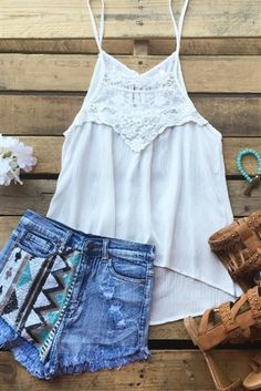 Fool Me Once Top - Ivory $32.99! #southernfriedchics