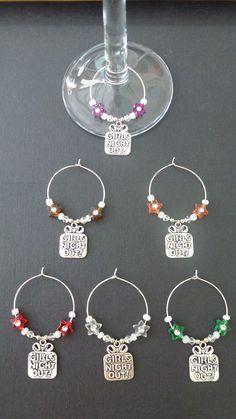 Glass Jewelry, Wire Jewelry, Beaded Jewelry, Wine Bottle Charms, Tassel Bookmark, Wine Craft, Wine Tags, Leather Jewelry, Bookmarks