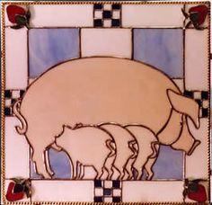 Checkerboard Piggies!