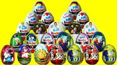 30 x Kinder Surprise eggs Mickey Mouse Маша и Медведь my little pony Sta... #Surpriseeggs #Toys #Disney #DisneyPixar #PixarCars #KinderSurprise #Surprise #Toy #MyLittlePony #HelloKitty #PeppaPig #MickeyMouse #Baby #Pixar #MinnieMouse #Cartoons #YouTube #Hello #spiderman #starwars #dora #Маша