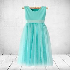 Jane in minty-blue. Flower-girl, christening or party dress. Little Miss Little Miss Dress, Winter Trends, Special Occasion Dresses, Party Dress, Summer Dresses, Celebrities, Girl Christening, Shopping, Fashion Ideas