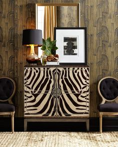 Zebra Stripes chest vignette