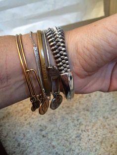 Recycled Military Zipper Bangle Bracelet by Rezipit on Etsy