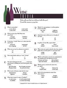 Wine Trivia picnic g