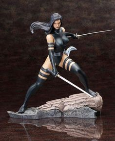 Marvel Fine Art 1/6 Scale Figure - Psylocke X-Force Version. Coming from Kotobukiya. It's The Marvel Fine Art Statue - Psylocke X-Force Version. Kotobukiya presents an all-new Psylocke sculpted by Erick Scale FigureSosa with the Marvel Comics Psylocke X-Force Outfit Fine Art Statue! Dressed in the black X-Force version of her ninja outfit, complete with Japanese tabi-style boots, Psylocke has never looked better Includes an interchangeable parts for display with either her sword or a show of…