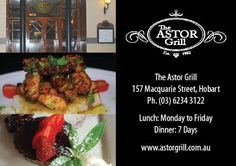 The Astor Grill, Hobart