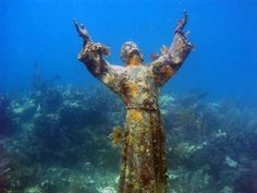Christ of Abyss, Italy