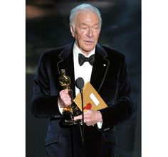 I love his acceptance speech, its about time, a great character actor