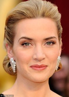Kate Winslet natural makeup