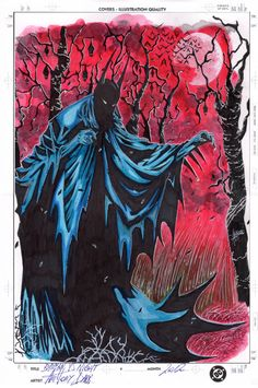 Batman Gothic from Anthony Darr Comic Art