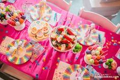 Kara's Party Ideas My Little Pony Birthday Party via Kara's Party Ideas KarasPartyIdeas.com Cake, decor, tutorials, recipes, favors and MORE! #mylittlepony #mylittleponyparty #ponyparty #rainbowparty (27) | Kara's Party Ideas