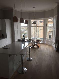 Edinburgh - West End Renovation - open plan kitchen / living area ...