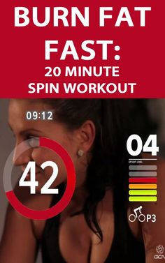 If you're looking for a QUICK WORKOUT TO either TONE UP or prepare for a bike event with some cardio-vascular training this 20 minute spin session is just what you need: Reduce Weight, How To Lose Weight Fast, Fast Fat Burning Workout, Bike Events, Spin Bike Workouts, Cycling For Beginners, Spinning Workout, Cycling Workout, Cycling Tips
