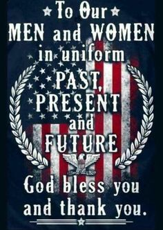 """""""Veterans Day ~ Friday, November 2016 Heartfelt thanks to all who have served our country in the armed forces! """"seasonalwonderment: """"Veterans Day ~ Friday, November 2016 Heartfelt thanks to all who have served our country in the armed forces! I Love America, God Bless America, America America, Military Veterans, Military Life, Military Quotes, Honor Veterans, Military Cards, Military Retirement"""