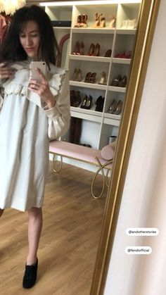London Fashion Bloggers, Latest Fashion Trends, Only Fashion, Fashion Beauty, Winter Dresses, Summer Dresses, Date Outfits, Dress With Bow, Parisian Style