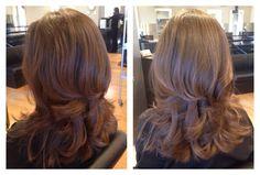 Loving this layered haircut by Corina!